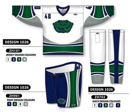 Custom Sublimated Hockey Uniform Design 1026