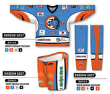 Custom Sublimated Hockey Uniform Design 1027