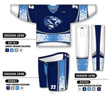 Custom Sublimated Hockey Uniform Design 1030