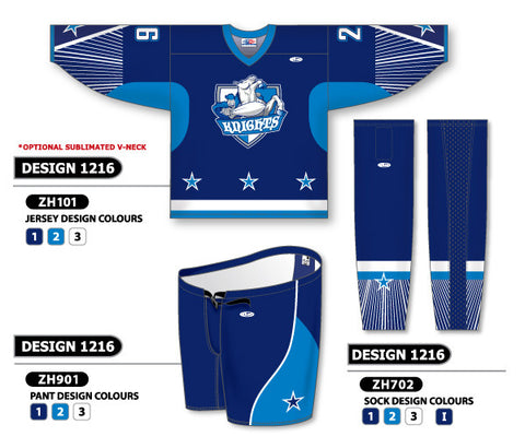 Custom Sublimated Hockey Uniform Design 1216