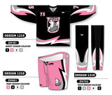 Custom Sublimated Hockey Uniform Design 1219