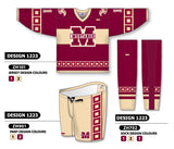Custom Sublimated Hockey Uniform Design 1223