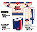 Custom Sublimated Hockey Uniform Design 1364