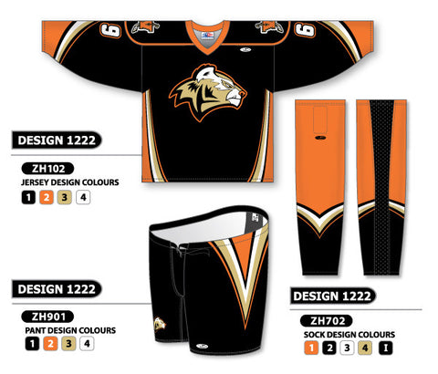 Custom Sublimated Hockey Uniform Design 1222