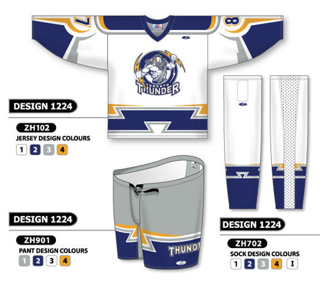 Custom Sublimated Hockey Uniform Design 1224