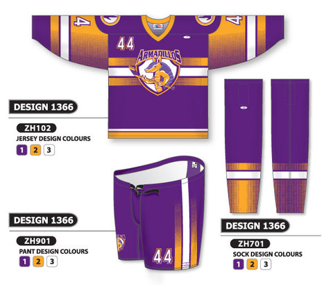 Custom Sublimated Hockey Uniform Design 1366