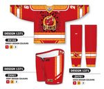Custom Sublimated Hockey Uniform Design 1371