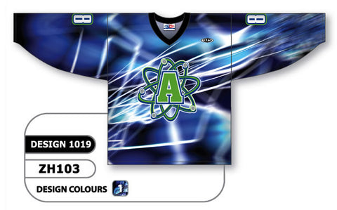 Custom Sublimated Hockey Jersey Design 1019