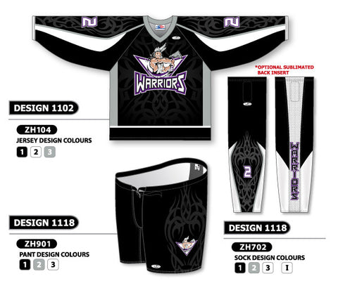 Custom Sublimated Hockey Uniform Design 1102
