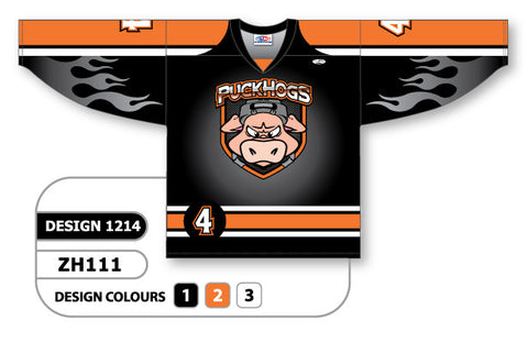 Custom Sublimated Hockey Jersey Design 1214