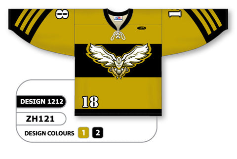 Custom Sublimated Hockey Jersey Design 1212