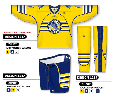 Custom Sublimated Hockey Uniform Design 1217