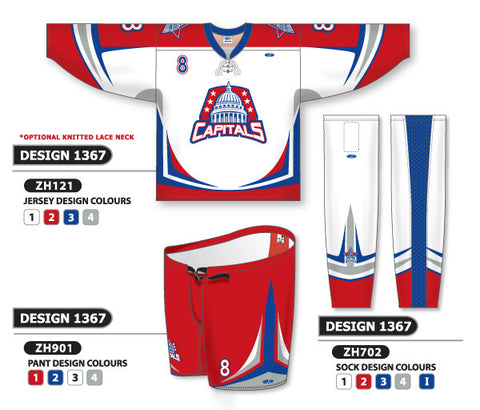 Custom Sublimated Hockey Uniform Design 1367
