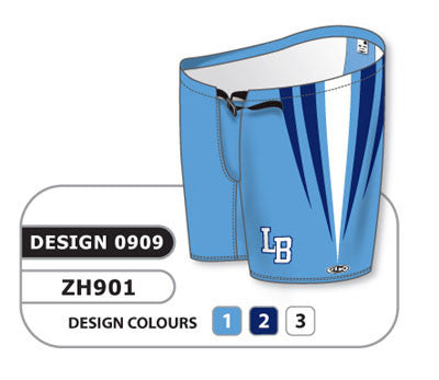 Custom Sublimated Hockey Pant Shell Design 0909