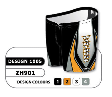 Custom Sublimated Hockey Pant Shell Design 1005