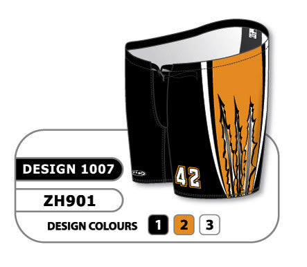 Custom Sublimated Hockey Pant Shell Design 1007