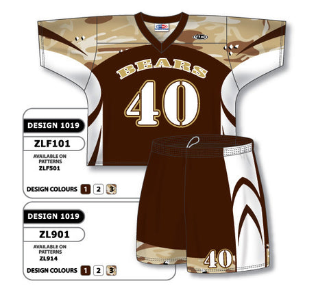 Custom Sublimated Lacrosse Uniform Set Design 1019