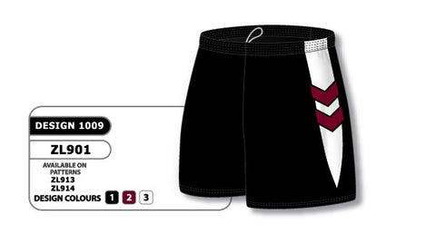 Custom Sublimated Lacrosse Short Design 1009