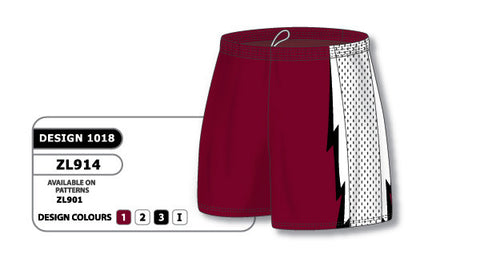 Custom Sublimated Lacrosse Short Design 1018