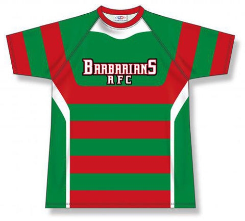 Custom Sublimated Rugby Jersey Design 1507