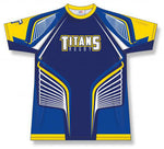 Custom Sublimated Rugby Jersey Design 1509