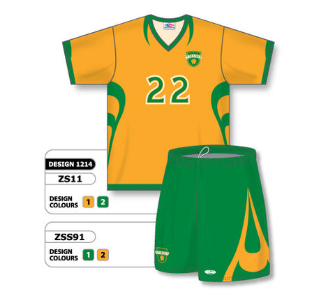Custom Sublimated Soccer Uniform Set Design 1214