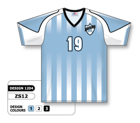 Custom Sublimated Soccer Jersey Design 1204