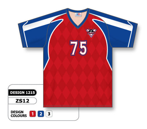 Custom Sublimated Soccer Jersey Design 1215