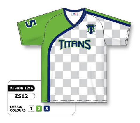 Custom Sublimated Soccer Jersey Design 1216