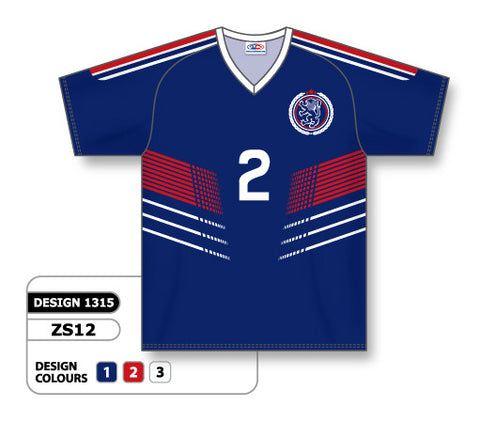 Custom Sublimated Soccer Jersey Design 1315
