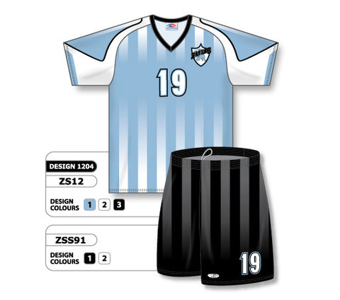 Custom Sublimated Soccer Uniform Set Design 1204