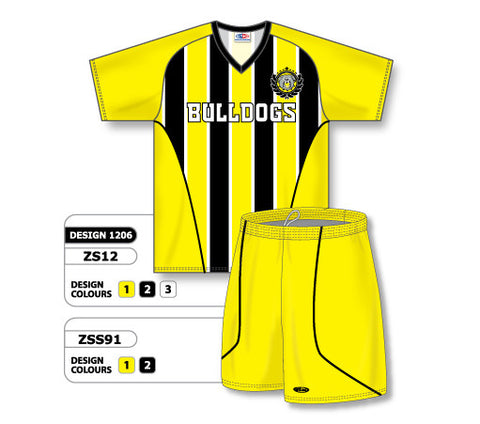 Custom Sublimated Soccer Uniform Set Design 1206