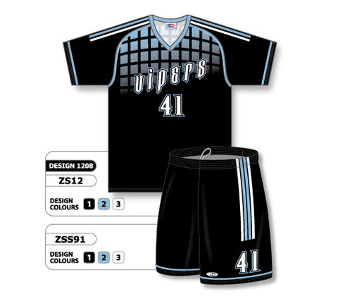 Custom Sublimated Soccer Uniform Set Design 1208
