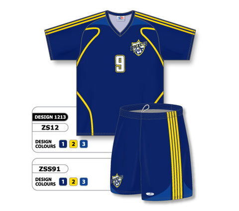 Custom Sublimated Soccer Uniform Set Design 1213
