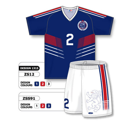 Custom Sublimated Soccer Uniform Set Design 1315