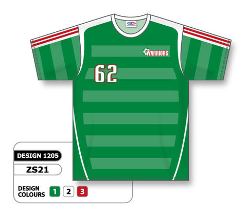Custom Sublimated Soccer Jersey Design 1205