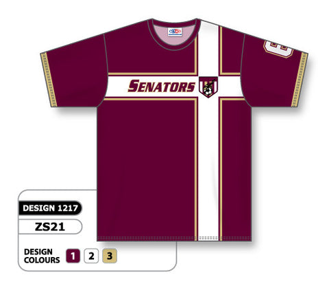 Custom Sublimated Soccer Jersey Design 1217