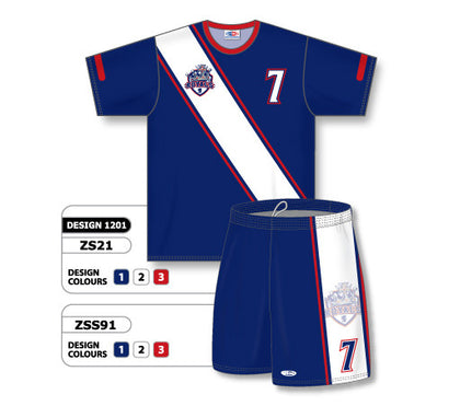 Custom Sublimated Soccer Uniform Set Design 1201