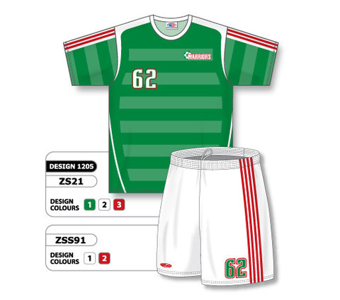 Custom Sublimated Soccer Uniform Set Design 1205