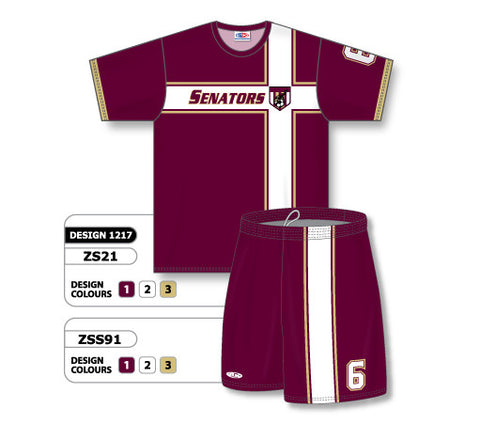 Custom Sublimated Soccer Uniform Set Design 1217