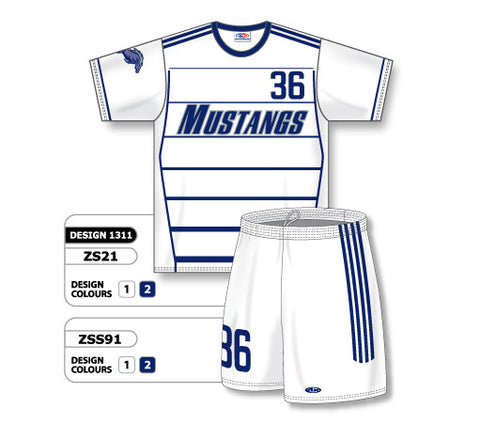 Custom Sublimated Soccer Uniform Set Design 1311