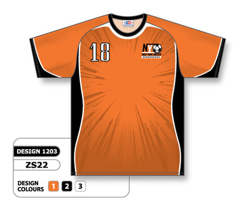Custom Sublimated Soccer Jersey Design 1203