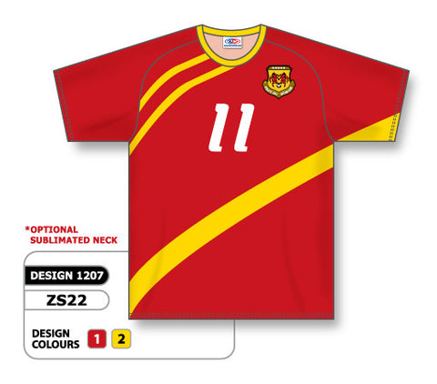 Custom Sublimated Soccer Jersey Design 1207