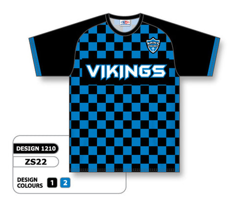 Custom Sublimated Soccer Jersey Design 1210