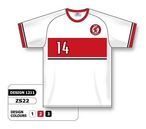 Custom Sublimated Soccer Jersey Design 1211