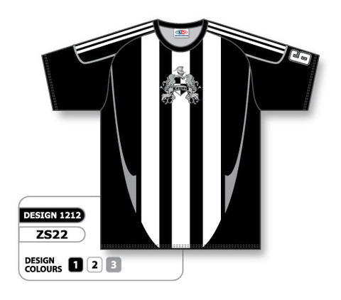 Custom Sublimated Soccer Jersey Design 1212