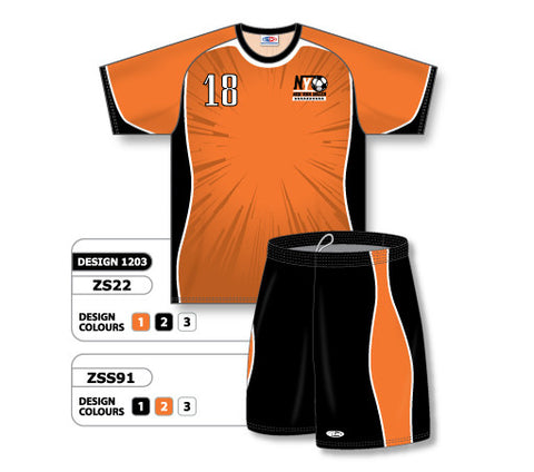 Custom Sublimated Soccer Uniform Set Design 1203