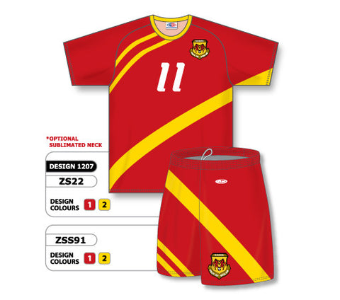Custom Sublimated Soccer Uniform Set Design 1207
