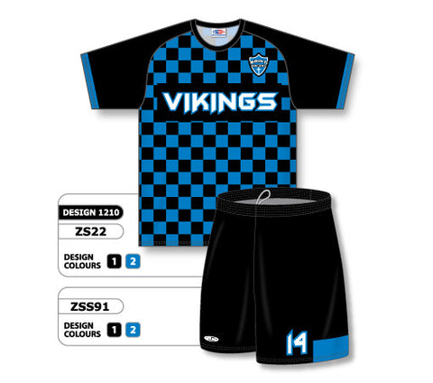 Custom Sublimated Soccer Uniform Set Design 1210