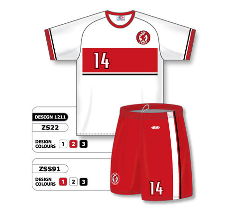 Custom Sublimated Soccer Uniform Set Design 1211